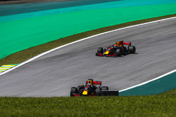 Daniel Ricciardo, Red Bull Racing RB13 and Max Verstappen, Red Bull Racing RB13