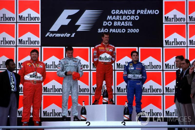 Ganador del GP de Brasil 2000: Michael Schumacher