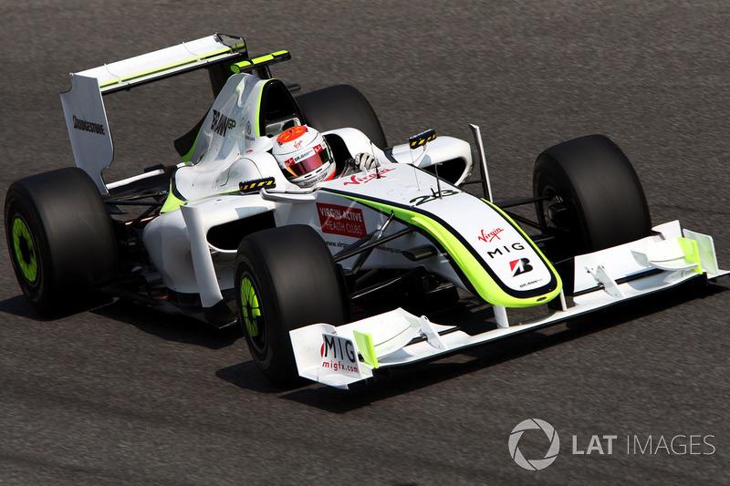 Рубенс Баррікелло, Brawn Grand Prix BGP 001