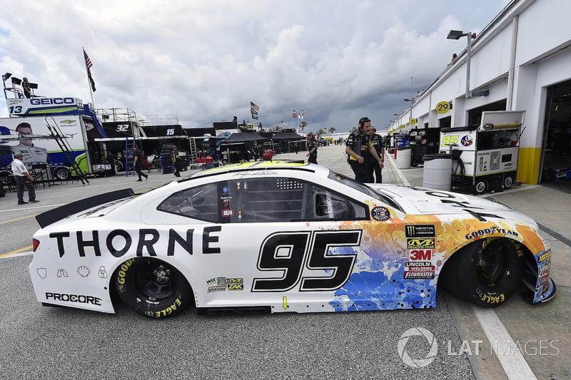 Kasey Kahne, Leavine Family Racing, Chevrolet Camaro Thorne Wellness