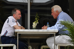 Lawrence Stroll y Paddy Lowe, Williams