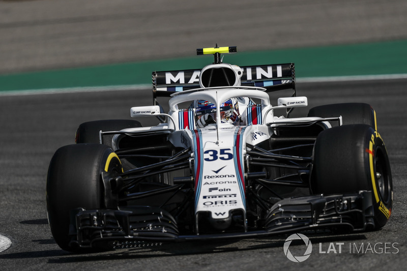 19. Sergey Sirotkin, Williams FW41
