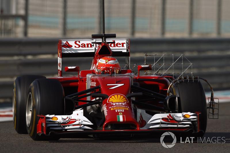 2014: Ferrari F14-T (два подиума, 4-е место в КК)