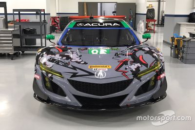 Michael Shank Racing renk düzeni tanıtımı