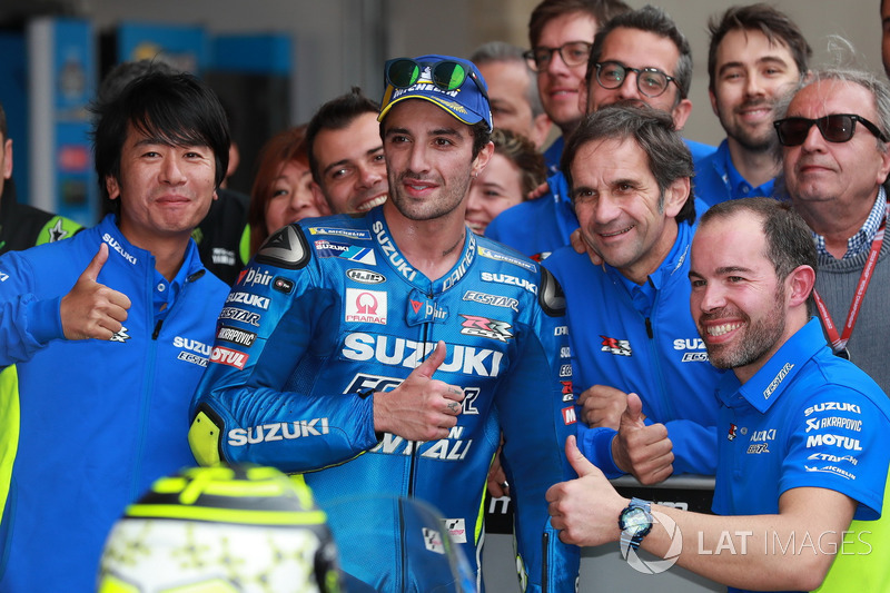 #8 Andrea Iannone (Team Suzuki MotoGP)