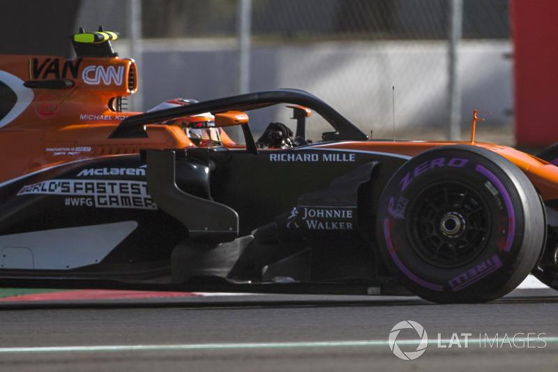 McLaren MCL32: Messgerät an der Airbox