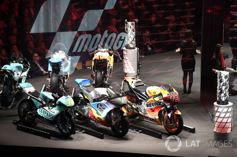 Мотоциклы чемпионов мира 2017 года