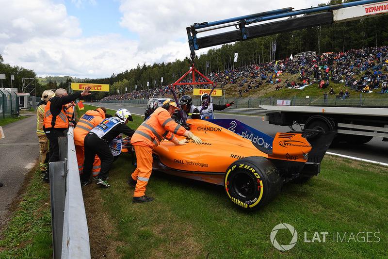 17 місце — Стоффель Вандорн, McLaren. Умовний бал — 5,83
