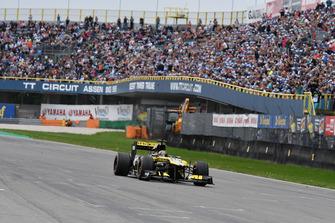Demostración de Carlos Sainz Jr. Renault F1 Team