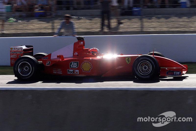 GP de Francia 2001