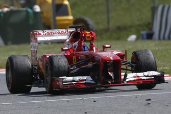 Fernando Alonso, Ferrari F138, vainqueur