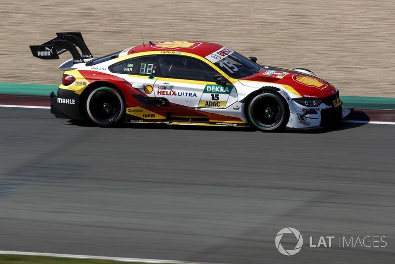 10. Augusto Farfus, BMW Team RMG, BMW M4 DTM