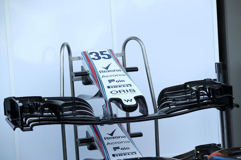 Un aileron avant de Williams FW41