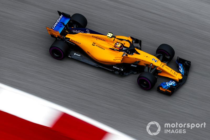 11e : Stoffel Vandoorne (McLaren)