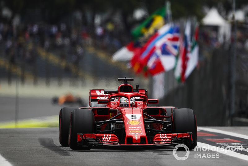 El enfado de Vettel por el momento en el que le llamaron a pesaje durante la clasificación 😡