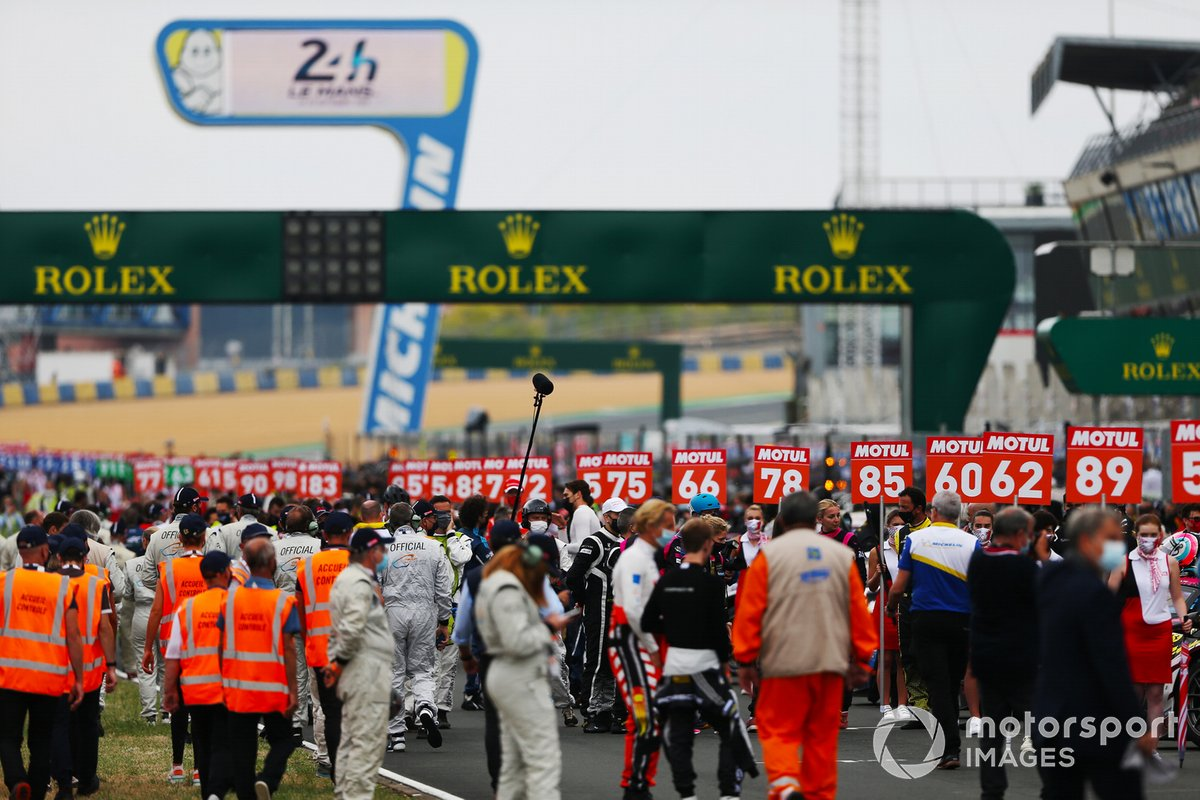 Le Mans 24 Hours grid