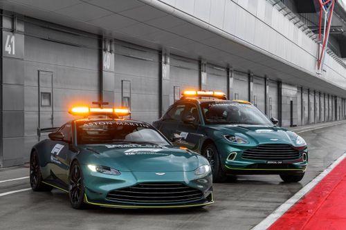 Presentazione Safety e Medical Car Aston Martin
