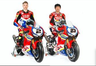 Leon Camier, Honda and Ryuichi Kiyonari, Honda