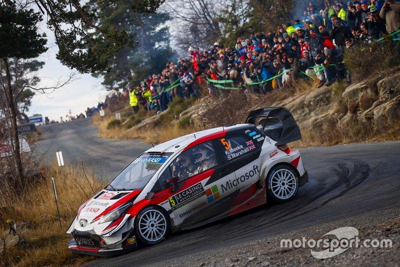 Крис Мик и Себастьен Маршалл, Toyota Yaris WRC