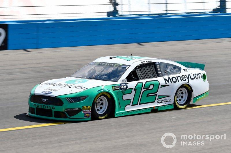 3. Ryan Blaney, Team Penske, Ford Mustang