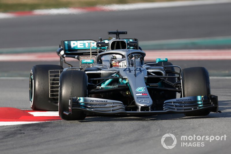 Lewis Hamilton, Mercedes-AMG F1 W10 EQ Power+