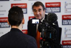 Nigel Mansell rilascia un'intervista