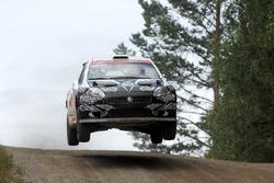 Кими Райкконен и Кай Линдстрём, Fiat Abarth Grande Punto S2000
