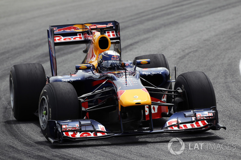 2010 год. Red Bull RB6