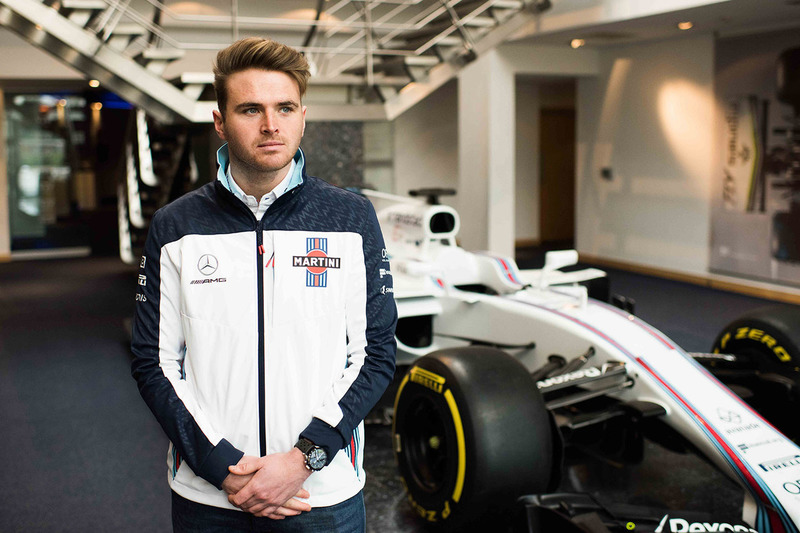 Oliver Rowland, jeune pilote Williams