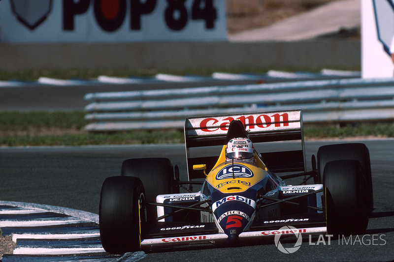 Nigel Mansell, Williams FW12