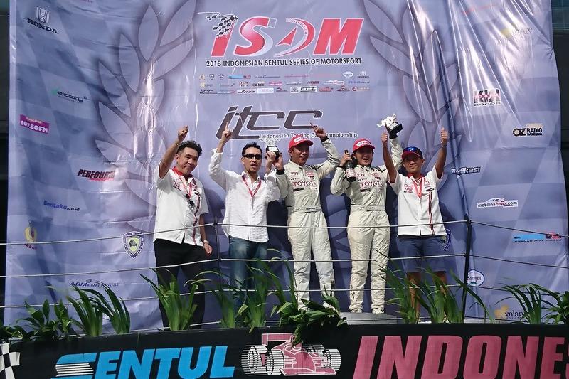 Podim ITCC 1600 Max: Demas Agil, Toyota Team Indonesia, Alinka Hardianti, Toyota Team Indonesia