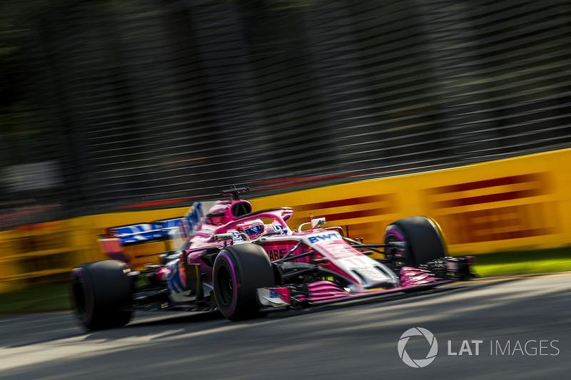12. Серхио Перес, Sahara Force India F1 VJM11