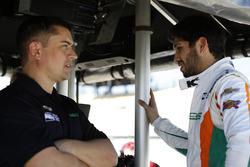 Kyle Kaiser, Juncos Racing Chevrolet, mit Ricardo Juncos