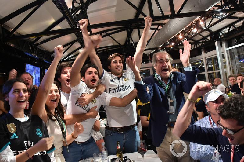 Carlos Sainz Jr., Renault Sport F1 mira la final de la Champions