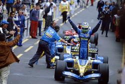Переможець Джанкарло Фізікелла, Renault