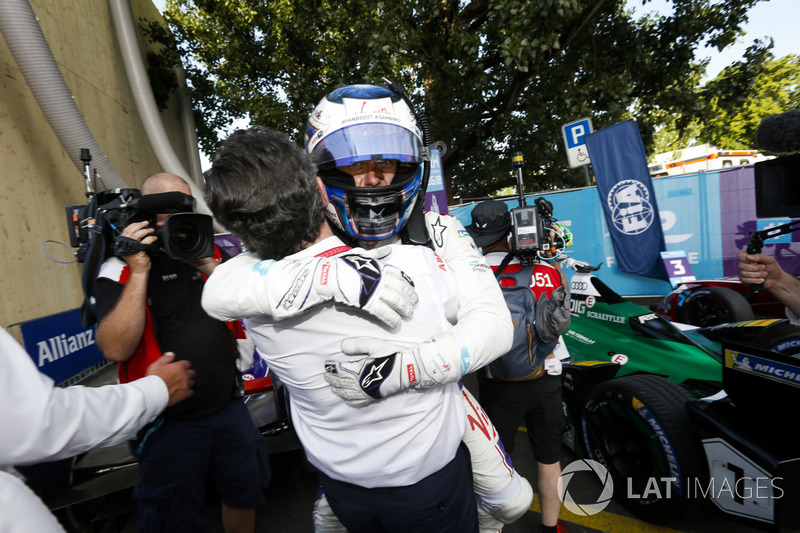 Sam Bird, DS Virgin Racing, segundo del ePrix de Zurich 2017/2018