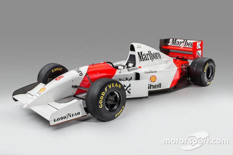 McLaren-Cosworth Ford MP4/8A 1993 bekas Ayrton Senna