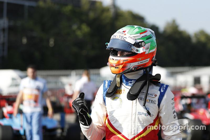 Leonardo Pulcini a créé la surprise avec la première pole position de Campos en GP3