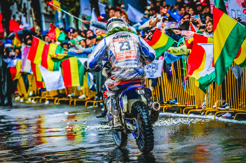 #23 Yamaha Official Rally Team: Ксав'є де Сультре