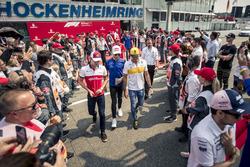 Charles Leclerc, Sauber F1 Team, Pierre Gasly, Scuderia Toro Rosso e Carlos Sainz Jr., Renault Sport F1 Team
