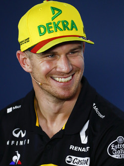 Nico Hulkenberg, Renault Sport F1 Team, in the Press conference