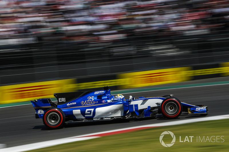 Ausfall: Marcus Ericsson, Sauber C36