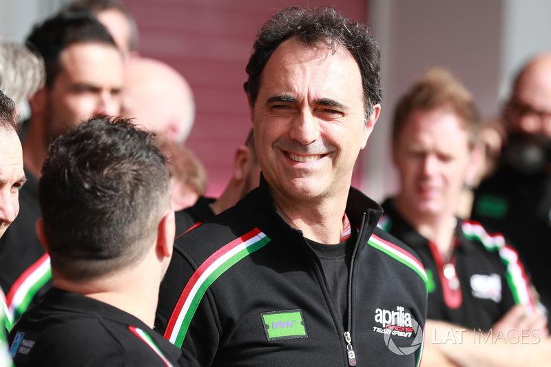 Romano Albesiano, Aprilia team manager