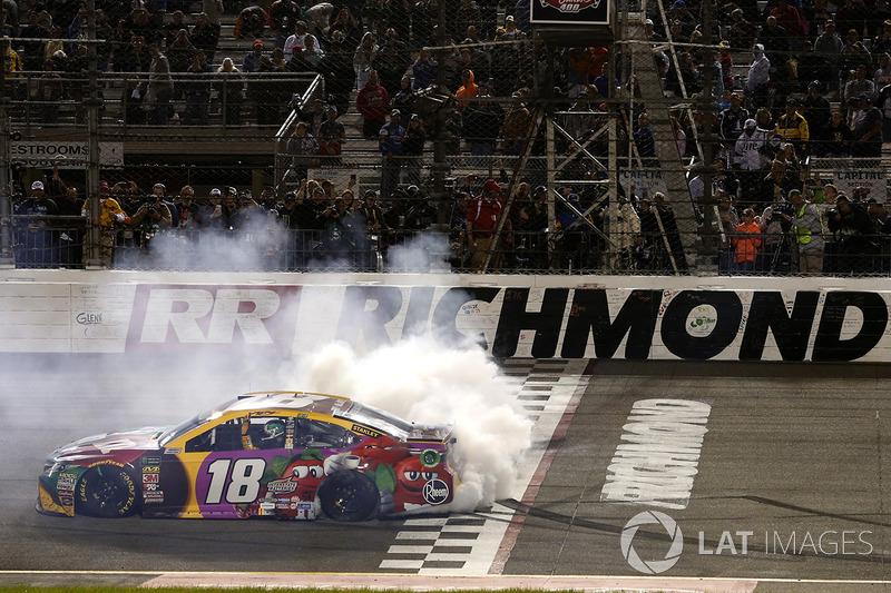 2018, Richmond 1: Kyle Busch (Gibbs-Toyota)