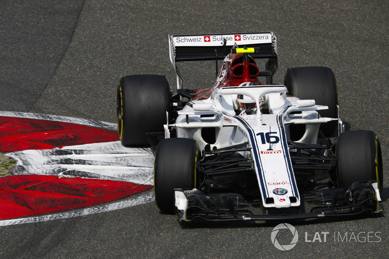19e : Charles Leclerc (Alfa Romeo Sauber)