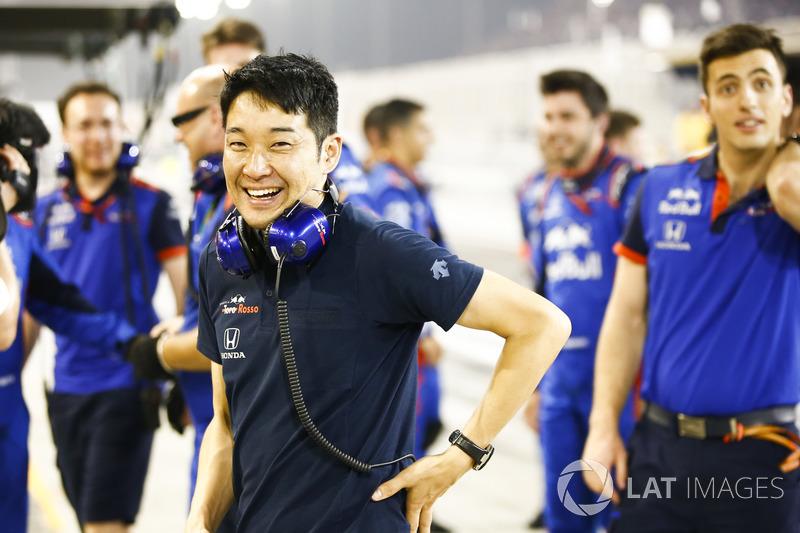 Kru Honda di tim Toro Rosso