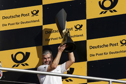 Champions Podium: Winning Manufacturer Audi with Dieter Gass, Head of DTM Audi Sport