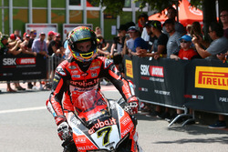 Chaz Davies, Aruba.it Racing-Ducati SBK Team parc ferme