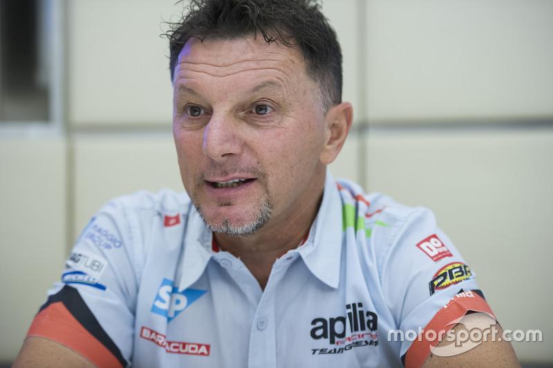 Fausto Gresini, Aprilia Gresini Racing Team Team Principal