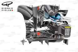 McLaren MP4/31 diffuser, United States GP